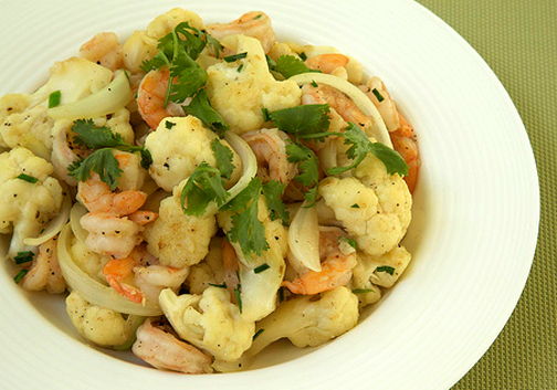 Posted In: Cauliflower And Shrimp Salad