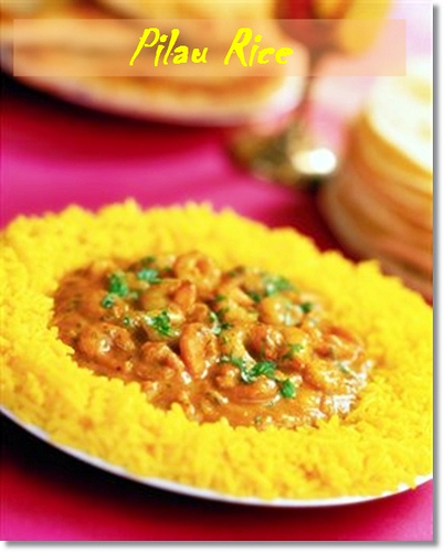 Pilau Rice with Step by step Making photos