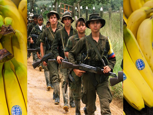 Banana Giant Chiquita Accused Of War Crimes