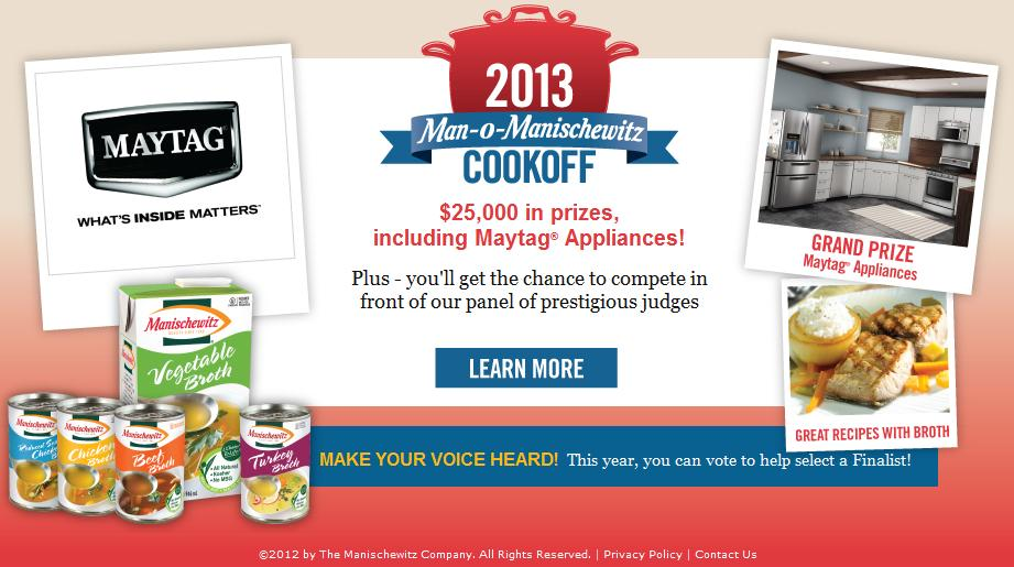 7th Annual Man-O-Manischewitz Cook-Off