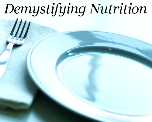 Nutrition Demystified - 4 Tips To Eat Healthy