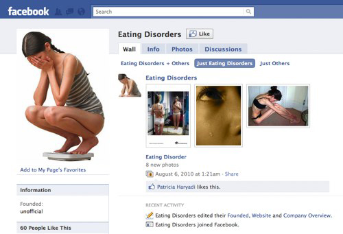 Facebook Also Means Eating Disorder For Regular Users