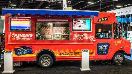 IBMs Supercomputer Gets Its Own Food Truck