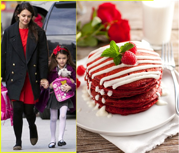 Katie Holmes To Make Red Pancakes For Suri!