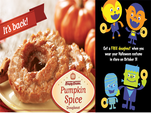 Grab A Free Donut Courtesy Your Halloween Garb