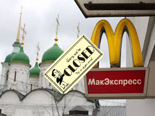 Is McDonalds  A Victim Of The Modern Crimean War?