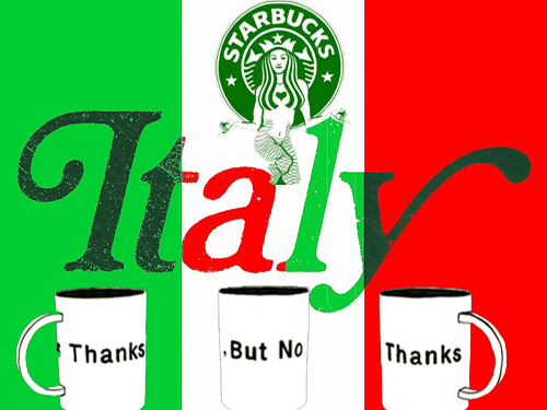 Why Is Starbucks Scared Of Italy?