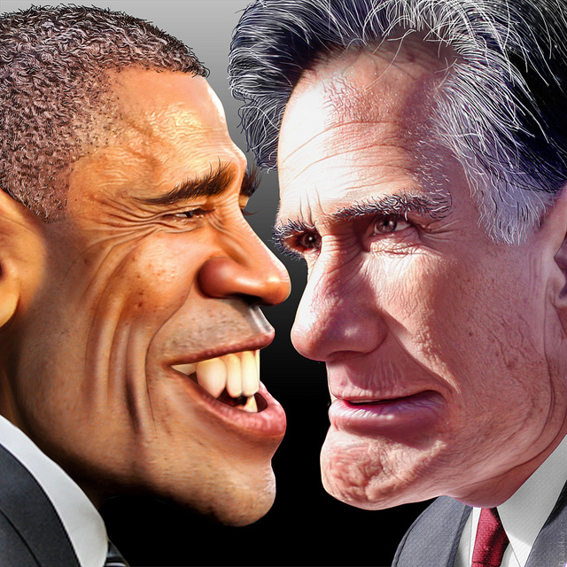 Prez Prediction Results:BBQ Loving Romney Edges Out Burger Loving Obama
