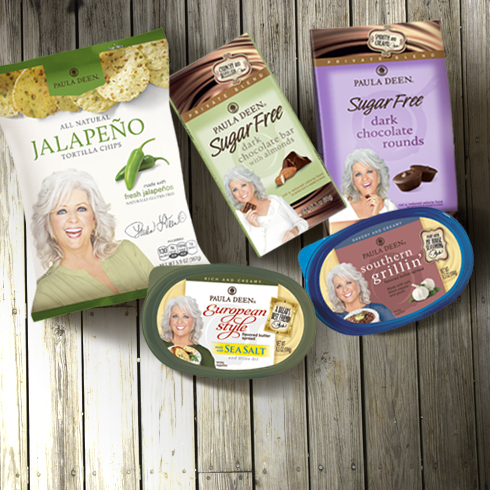 Paula Deen & Her Butters, Chips & Chocolates