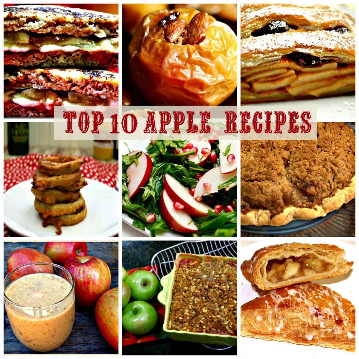 Top 10 Apple Recipes