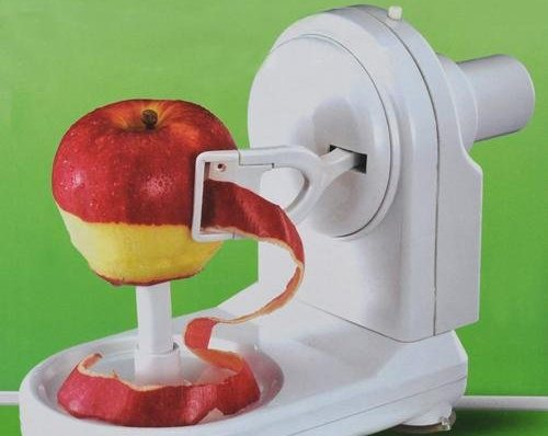 A Machine To Peel Apples In A Jiffy!