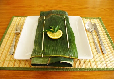 Cooking In A Banana Leaf