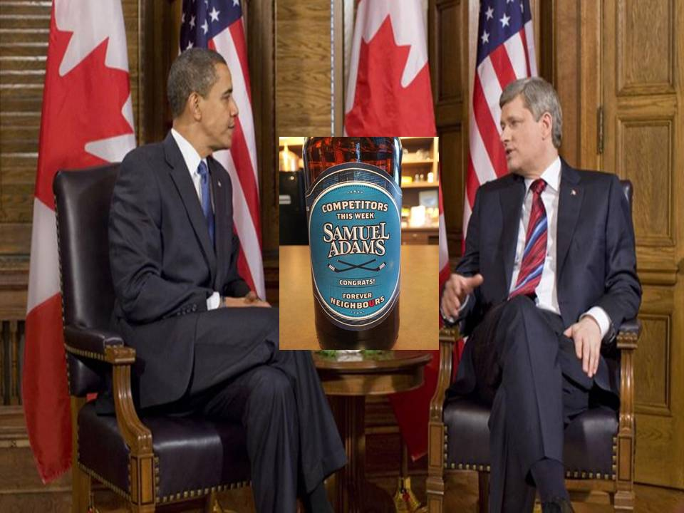 Prez Obama Loses Beer Bet
