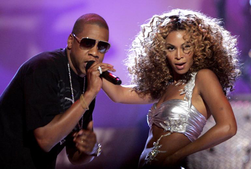 Beyonce & Jay Z Succumb To Plant Power