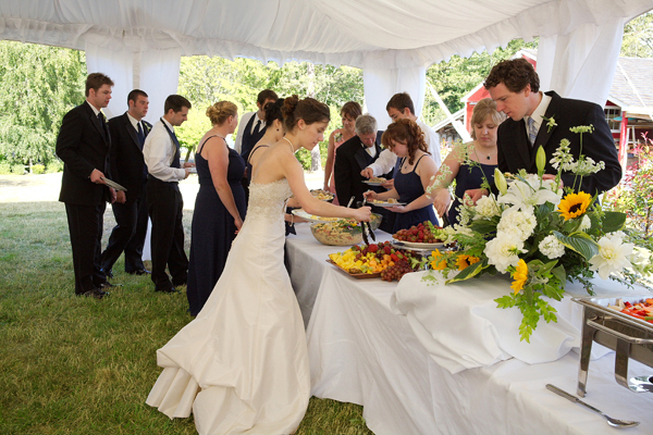 Why You Should Have A Wedding Buffet
