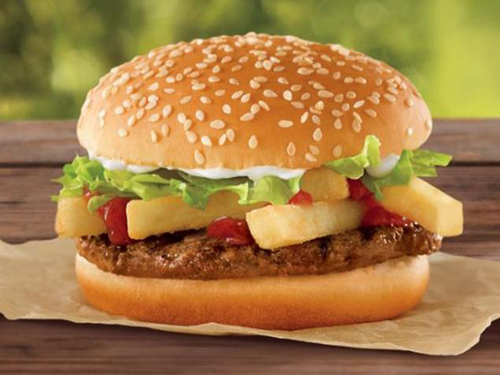 Burger Kings Dollar Burger