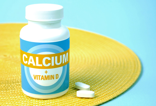 Calcium Plus Vitamin D Means Lesser Fractures In Menopause