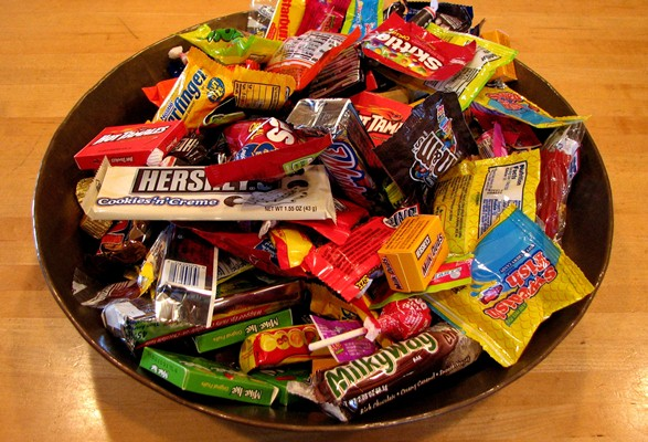 Watch How Many Candies You Eat