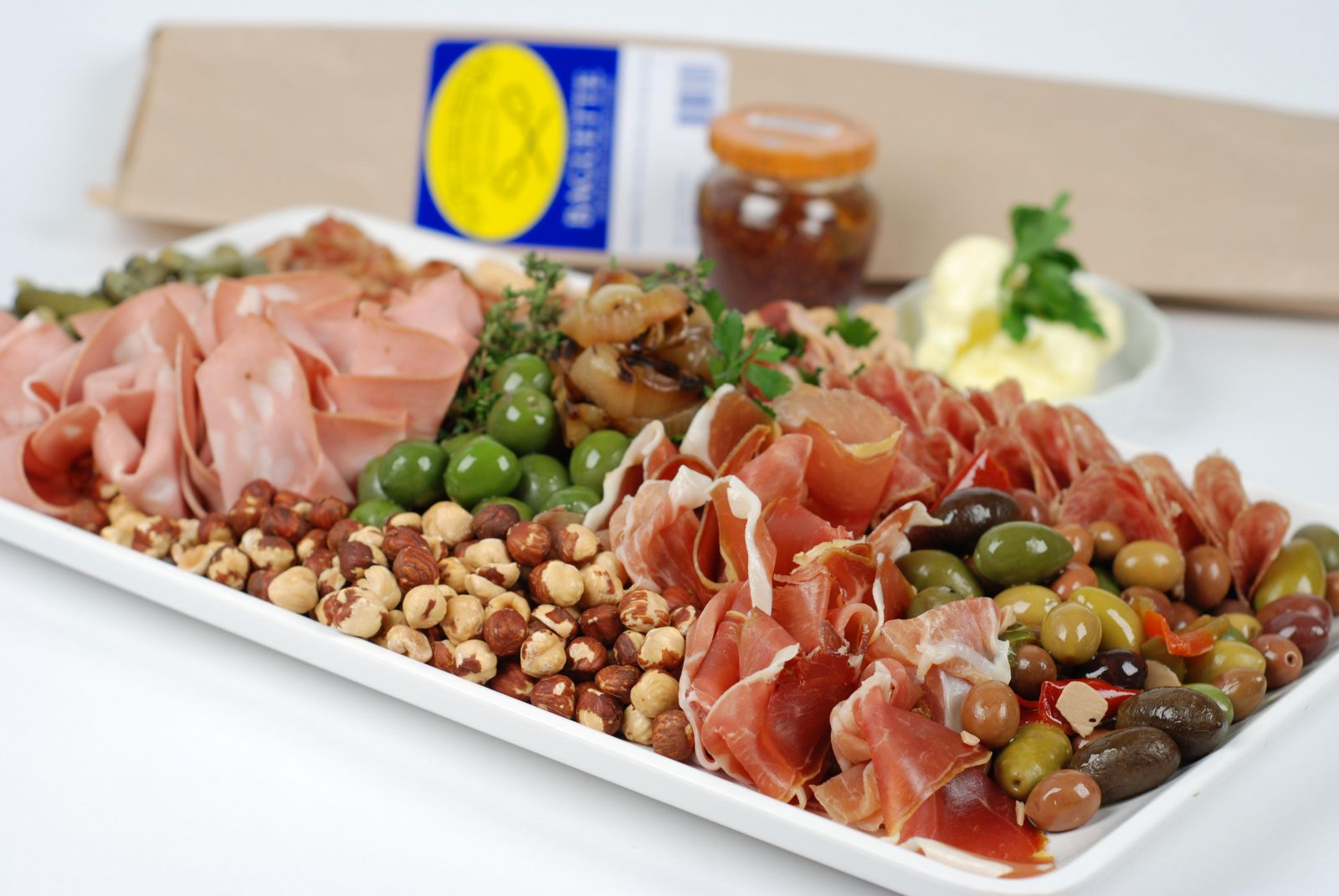 Build Your Own Holiday Charcuterie Plate