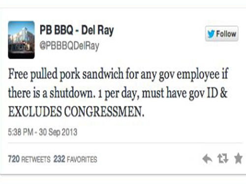 No Freebies For Congressmen Decide Eateries