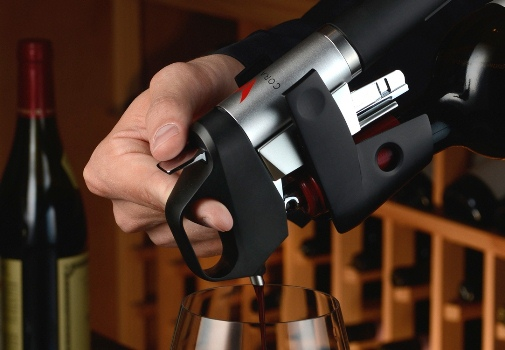 Now, Pour Wine Without Removing The Cork!
