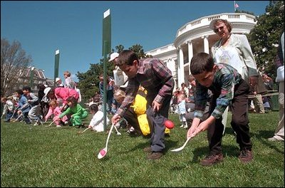 The Easter Egg Goes Rolling Through The White House Again