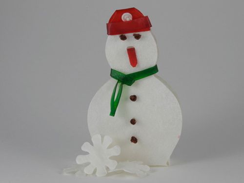 Edible Snowman To Hasten Christmas