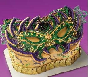 5 Sure Shot Ideas To Make Mardi Gras Themed Cakes