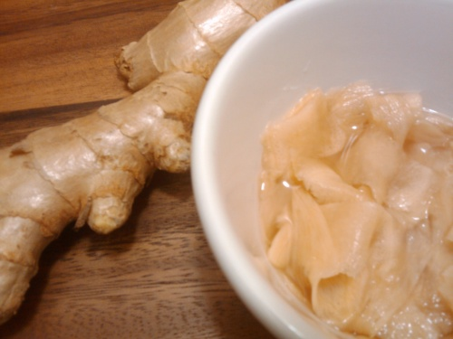 How To Pickle Ginger For Sushi