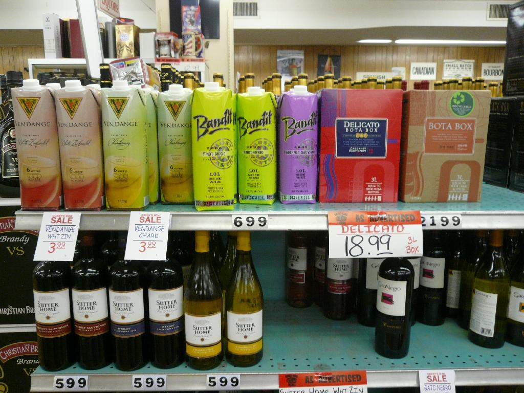 Who Would Want To Buy Boxed Wine?