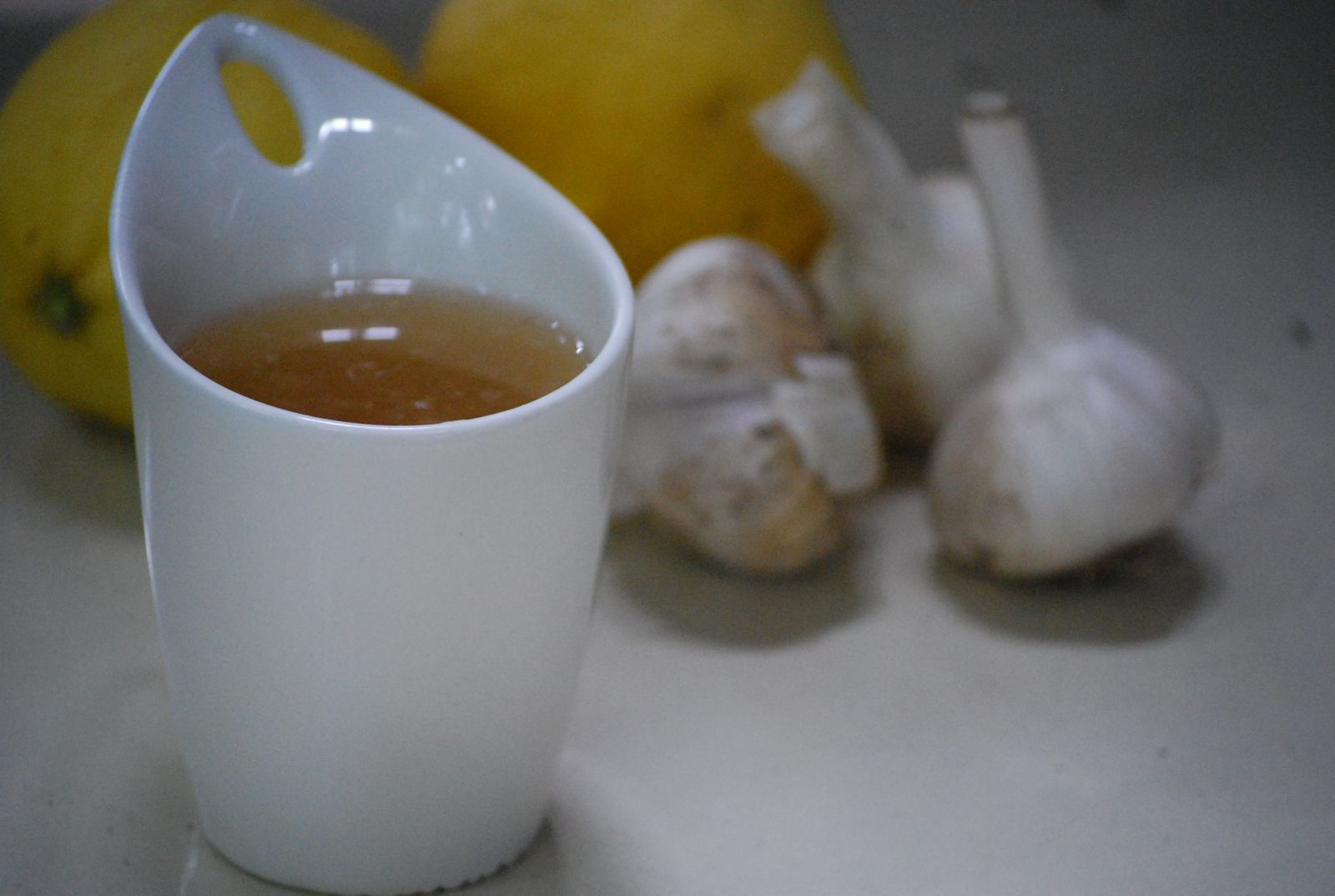 Ginger And Garlic Tea