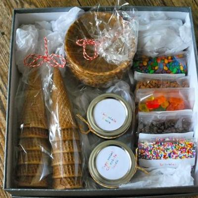 Gift Ice Cream : How to Tips & Ideas