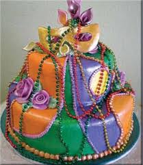 7 Edible Mardi Gras Cake Decoration Ideas