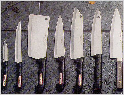Japanese Cutlery on Best Kitchen Knives The 5 Basic Culinary Knife Grinds