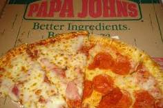 papa john's bacon pizza