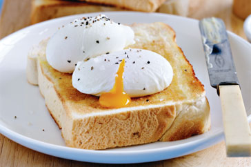 How To Eat Poached Egg