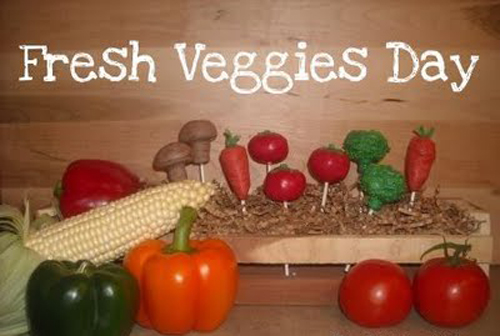 Cut Out The Fat On National Fresh Veggies Day
