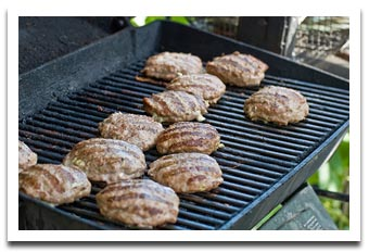 How do I grill the perfect burger?  Bite into Grilled perfect