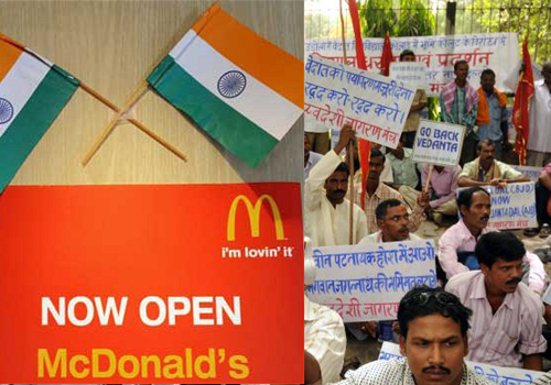 Veg McDonalds Draws Flak From Hindu Group