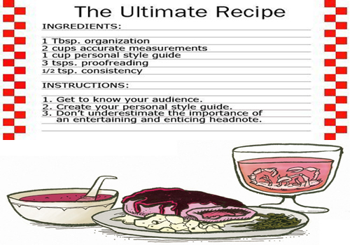 How To Write A Cookbook With Salivating Recipes