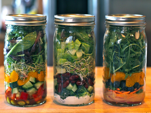 How To Pack Salad In A Jar