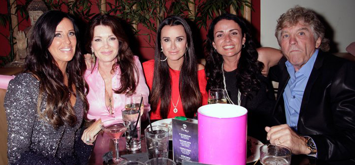 Kyle Richards at Koi