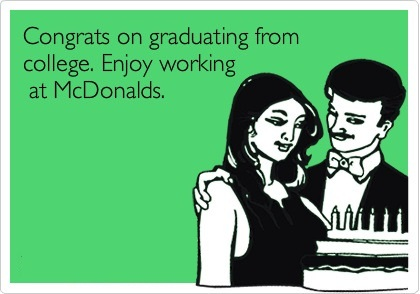 McDonalds Wants Graduate Cashiers Only