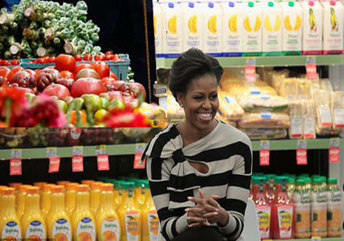 Michelle Obama Shares Shopping Guidelines