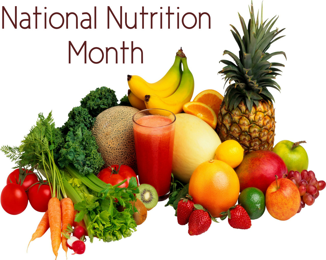 It's National Nutrition Month - Eat Healthy, Eat Tasty