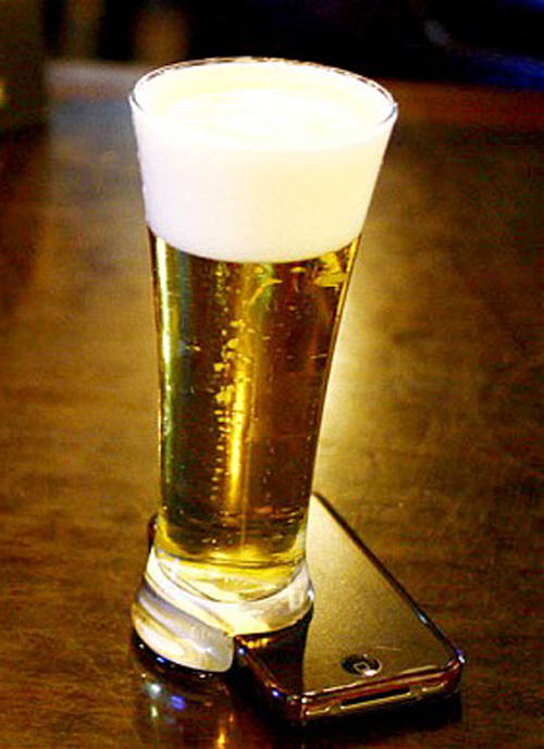 Offline Beer Glass For Online People