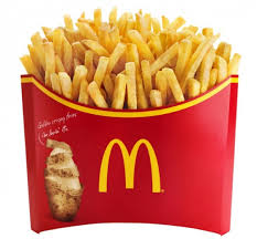 McDonalds Japan Offers Mega Potato Fries