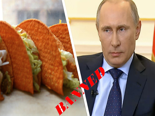 Mighty Taco Putin Its Foot Down