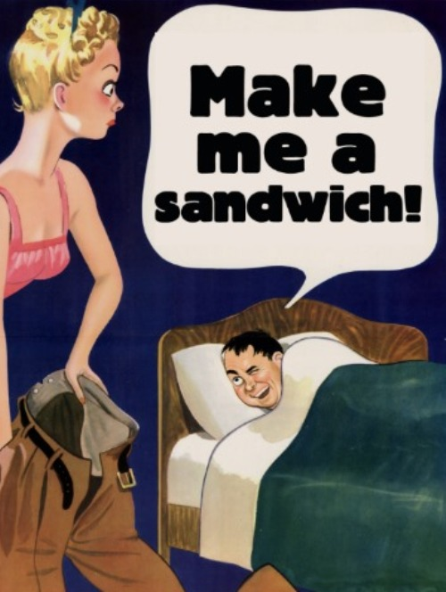 A Sandwich To Keep Your Man Hooked