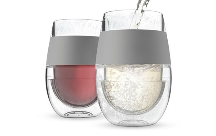 Wine Glasses That Cool Your Drink